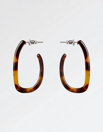 Hoop Patterned Earrings