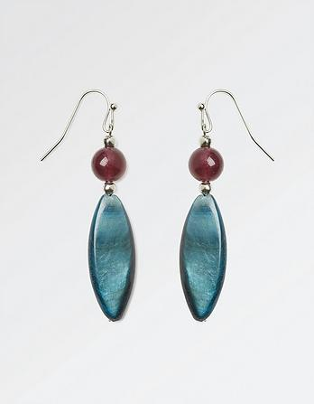Bead Drop Earring