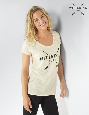 Wittering Surf Women's Adrift Scoop Neck T-Shirt