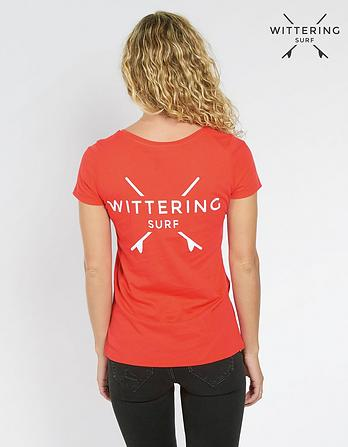 Wittering Surf Women's Isla Round Neck T-Shirt