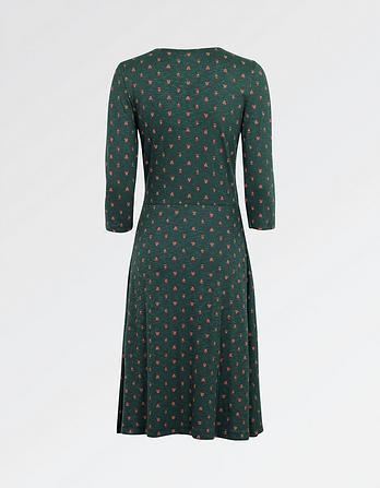 Sadie Opulent Paisley Wrap Dress