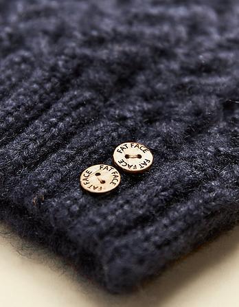 Knitted Pom Beanie