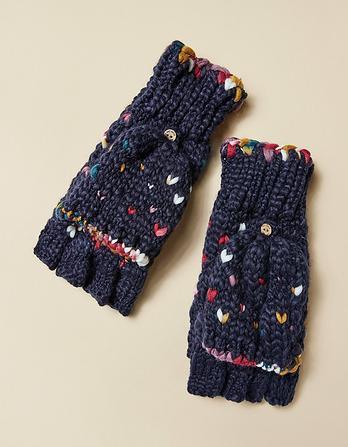Hand Stitch Overflap Mittens