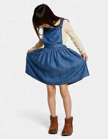 Kara Pinafore Dress