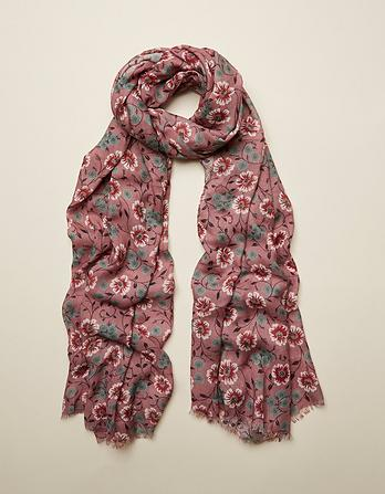 Posy Floral Scarf
