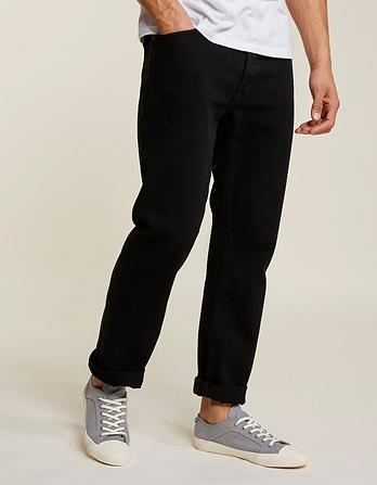 Stay Black Straight Jeans