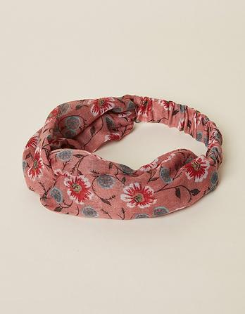 Posy Floral Twist Headband