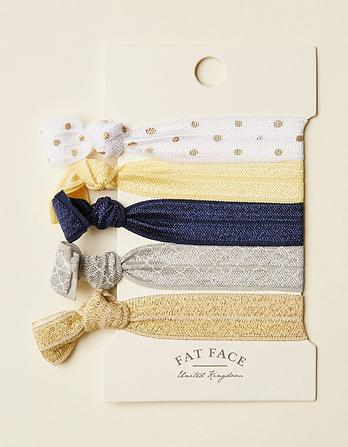 Five Pack Hair Ties