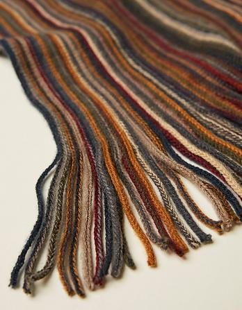 Busy Stripe Scarf