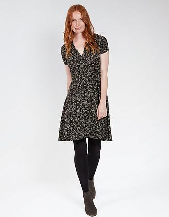 Greta Meadow Daisy Wrap Dress