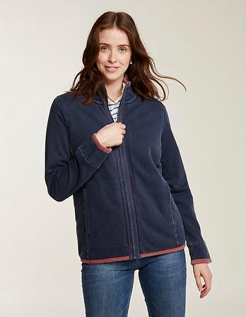Airlie Sherpa Lined Sweatshirt
