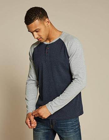 Hawnby Raglan Henley T-Shirt