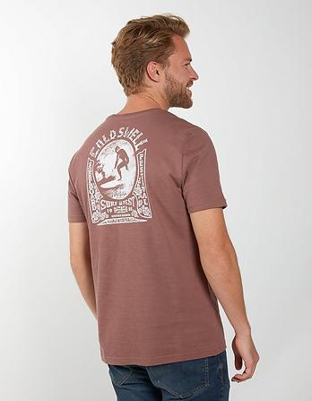 Cold Swell Organic Cotton Graphic T-Shirt
