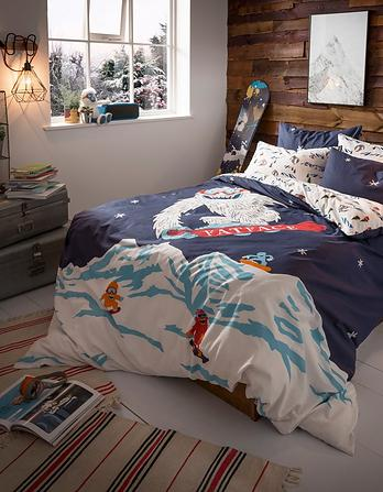 Yeti Single Duvet Cover Set