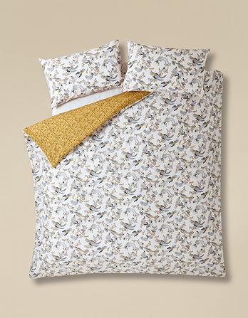 Oriental Bird Double Duvet Cover Set