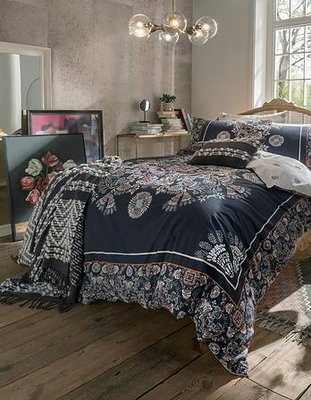 Ornamental Tile Super King Size Duvet Cover Set
