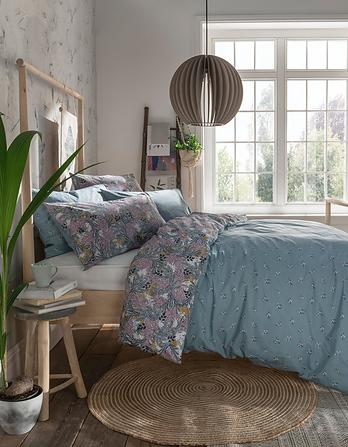 Winter Ferns Single Duvet Cover Set