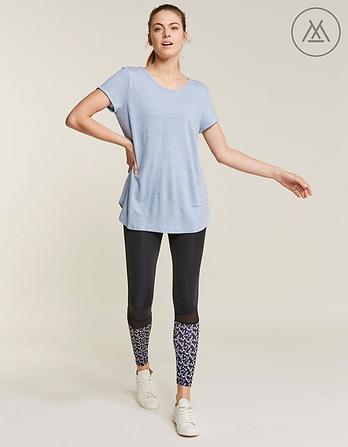 Athleisure Hayley Cross Back T-Shirt
