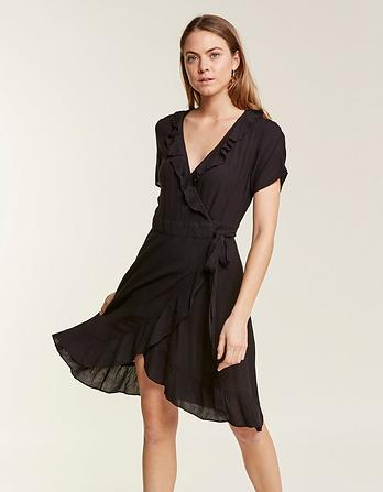 Greta Wrap Dress