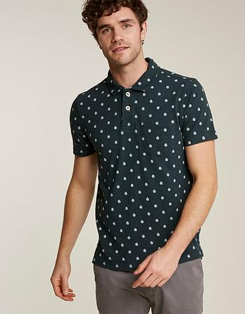 Cheese Plant Print Polo