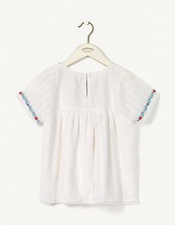 Emma Embroidered Blouse