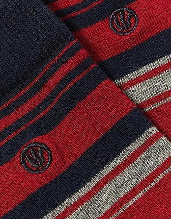 One Pack Rufus Stripe Socks