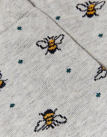 One Pack Bee Spot Socks