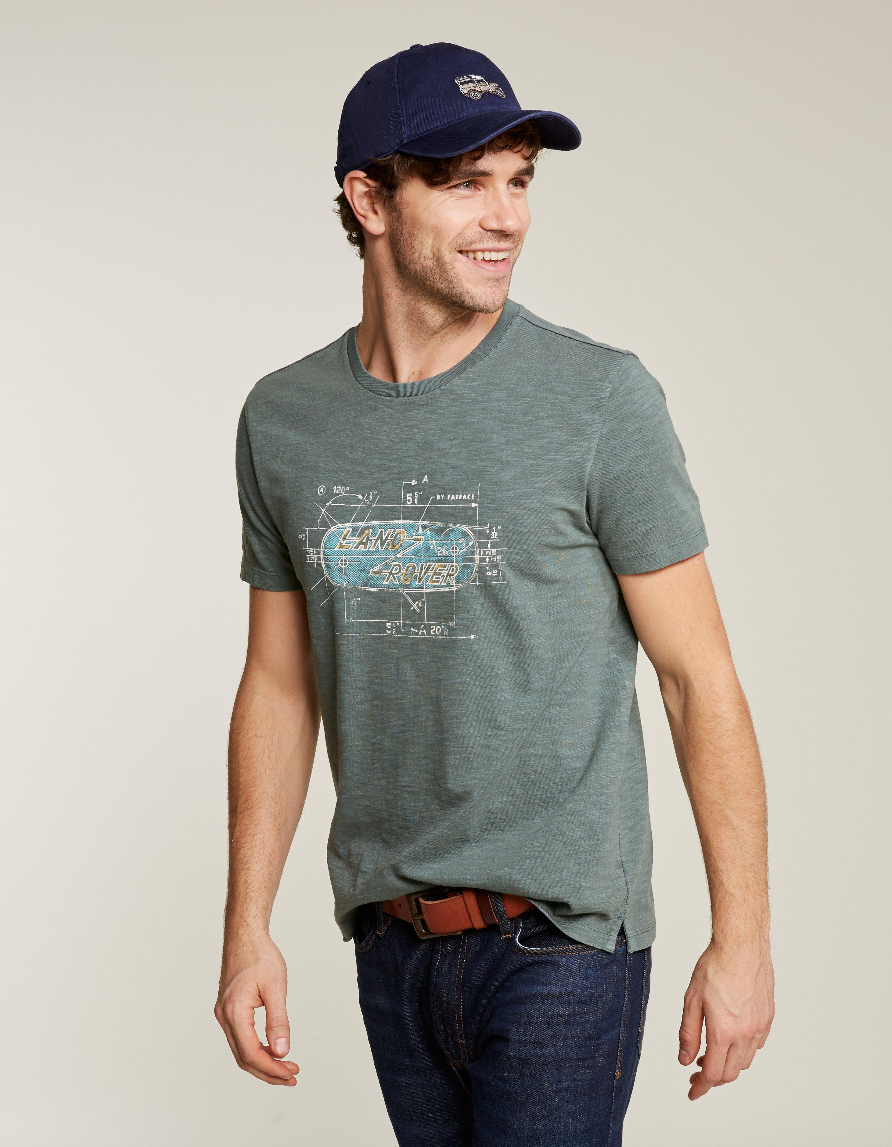 Land Rover Logo Graphic T Shirt T Shirts Polos Fatface Com