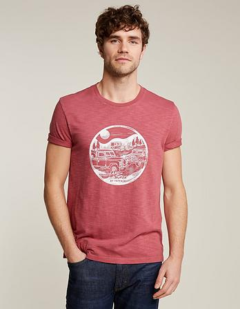 Land Rover Circle Graphic T-Shirt