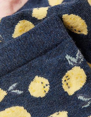 One Pack Lemon Socks