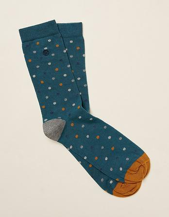 One Pack Spotty Socks