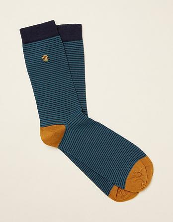 One Pack Eric Stripe Socks