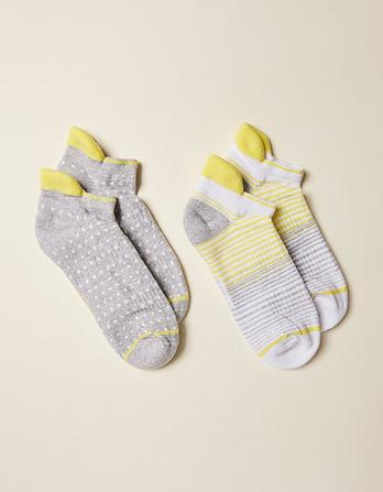 Two Pack Spot Trainer Socks