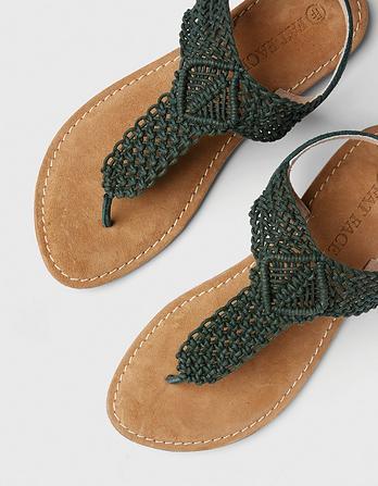 Carla Crochet Sandals