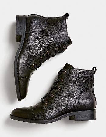 Carly Lace Up Boots