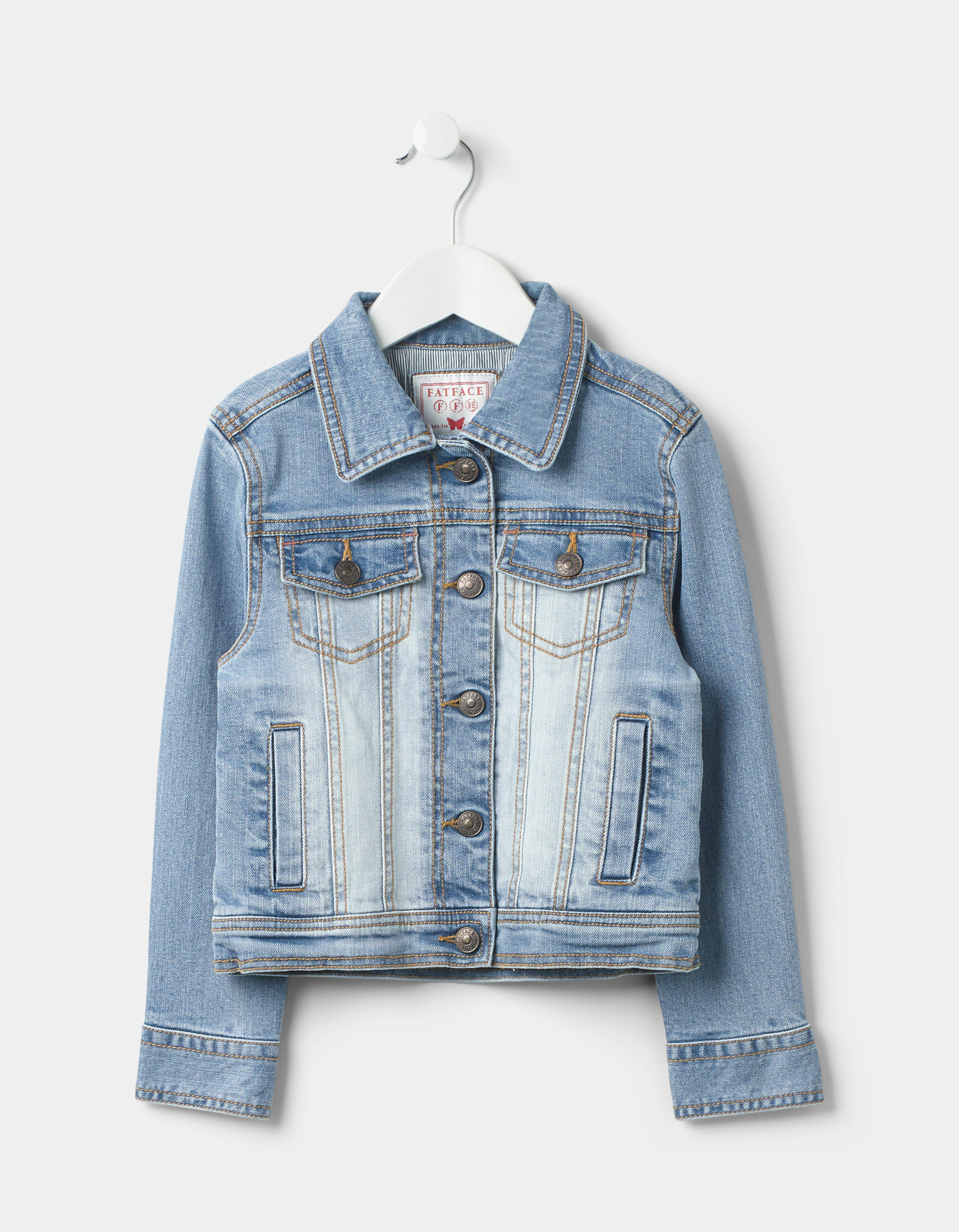 c7ad1a629 Light Wash Denim Jacket, Coats & Jackets | FatFace.com