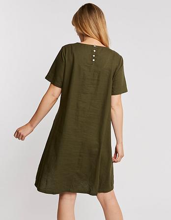 Simone Linen Blend Dress