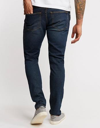 Mid Wash Lean Slim Fit Jeans