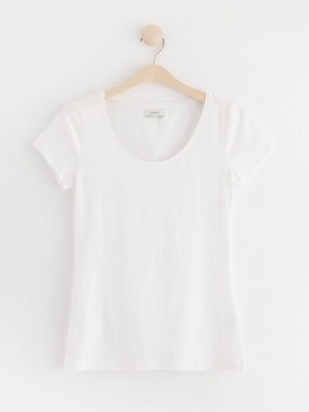 Short Sleeve Cotton T-shirt White