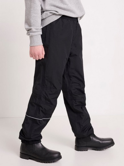 Kalhoty do deště Černá