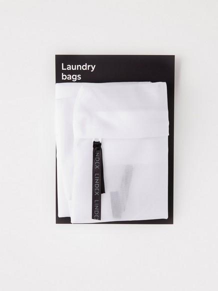 2-pack tvättpåsar Vit