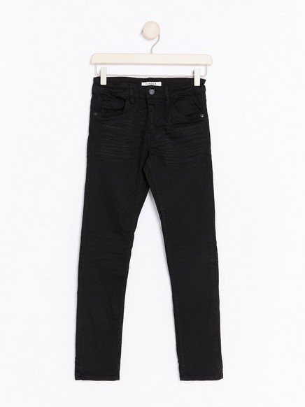 Narrow Jeans Black