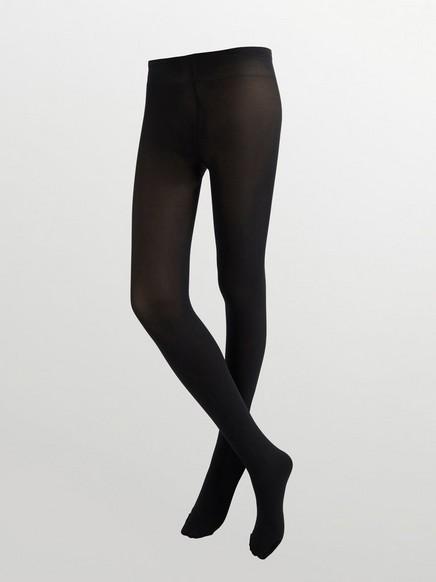 Peittävät sukkahousut, 80 denieriä Musta