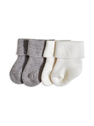 2-pack Socks White