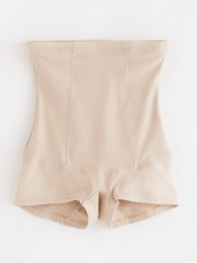 High Waist Shaping Briefs Beige