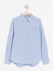 Bomullsskjorta Blå