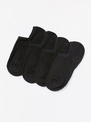 4-pack footies Svart