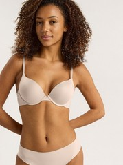 Rebel push up -rintaliivit Beige