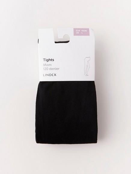 Těhotenské punčochové kalhoty Černá