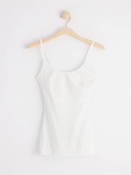 Tvarující košilka Bílá